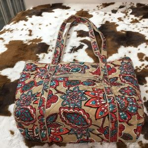 Vera Bradley bag with matching wallet